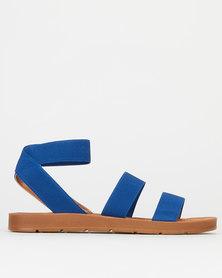 Madison Annie Elastic Sandals Cobalt Blue