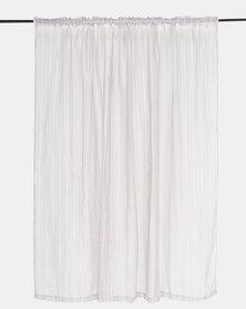Horrokses Fashions Sheer Curtains Grey