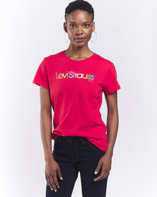 Levi's? Red Perfect Graphic Tee Red