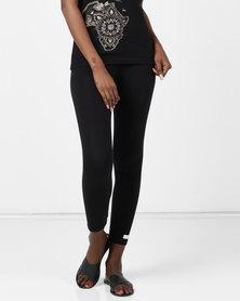 Ecopunk Athleisure legging cotton lycra BLACK