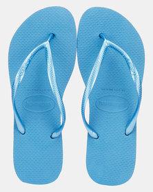 Havaianas Slim Flip Flop Steel Blue