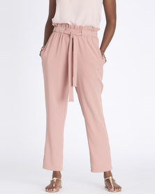 Contempo  Soft Pants Dusty Pink