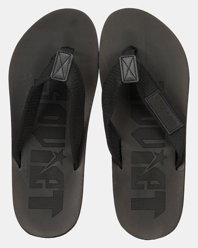 Soviet Astro Sandals Black
