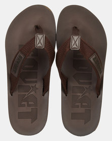Soviet Astro Sandals Choc
