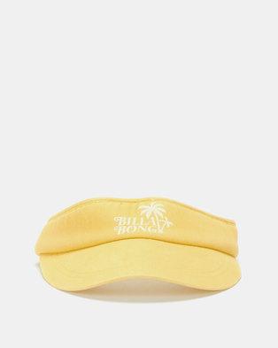 Billabong Miami Visor Cap Yellow