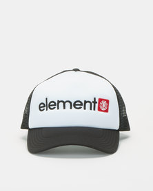 Element Horizontal Trucker Cap White/Black