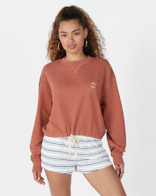 Billabong Faded In The Sun Crew Sweatshirt Neutral