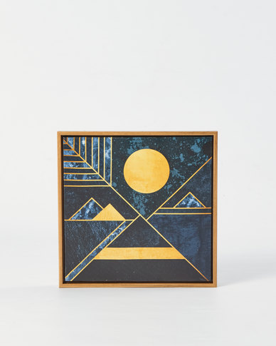 Utopia Geometric Wall Art Multi