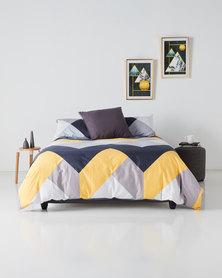 Utopia Domestic Daydream Duvet Cover Set Yellow