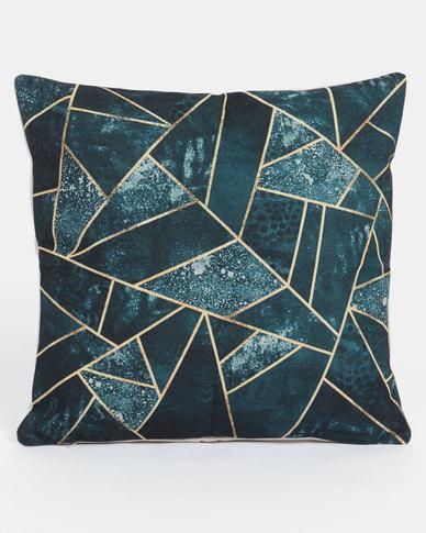 Utopia Geometric Scatter Cushion Cover Black