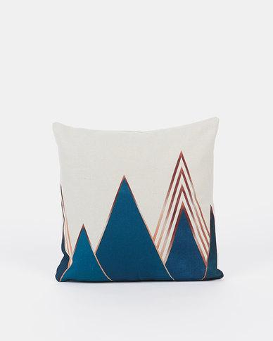 Utopia Golden Peak Scatter Cushion Cover Gold