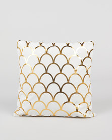 Utopia Foil Scatter Cushion Cover Gold