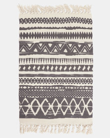 Utopia Small Rug Grey And White