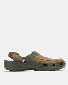 Crocs Yukon Vista Clog Shoes Espresso