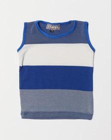 Utopia Boys Stripe Vest Multi
