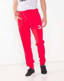 Puma Sportstyle Prime Archive T7 Track Pants High Risk Red