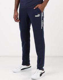 Puma Sportstyle Core Amplified Pants TR Peacoat Blue