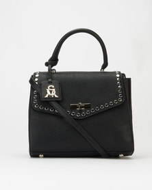 Steve Madden Banya Satchel Bag Black