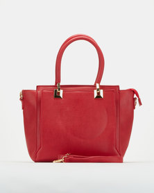 Utopia Double Handle Bag Red