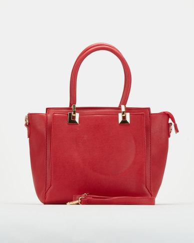Utopia Double Handle Bag Red
