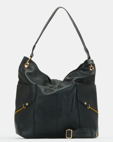 Utopia Relaxed Handbag Black