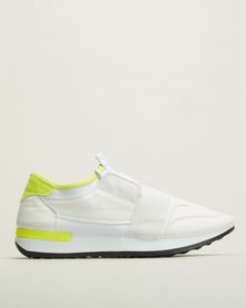 Tom_Tom Storm Funky Sneakers White
