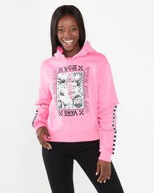 Vans Lady Vans Sting Hoodie Pink