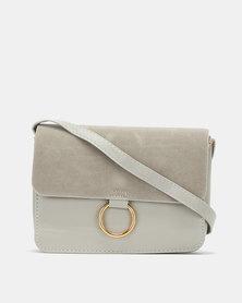 All Heart Mini Crossbody Bag Light Grey