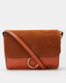 All Heart Mini Crossbody Bag Tan