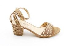 LaMara Paris Jayna rockstud sandal gold