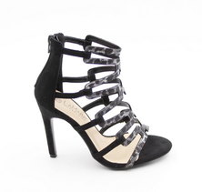 LaMara Paris Bonni snakeprint sandal black