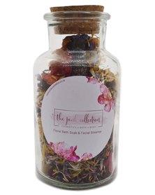 Pink Cosmetics Floral bath tea & facial steamer