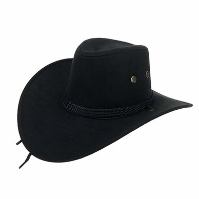 Big Brothers and Sisters Wholesalers Cowboy Hats Black