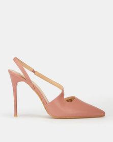 Footwork Petunia Heels Dusty Pink