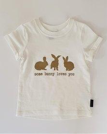 Lola&Peach Cotton Tee Bunny