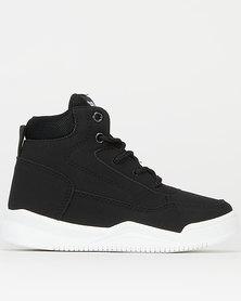 Soviet Boys Lotus Hi Top Sneakers Black