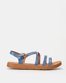 Pierre Cardin Strappy Sandals Light Blue