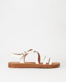 Pierre Cardin Strappy Sandals White