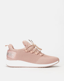 Pierre Cardin Back Tape Sneakers Pink