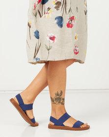 Pierre Cardin Elasticated Sandals Denim