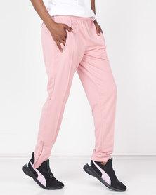 Puma Sportstyle Core ZA Womens Tricot Pants Bridal Rose