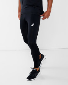 ASICS Silver Tights Black