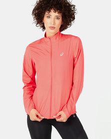 ASICS Silver Jacket Pink