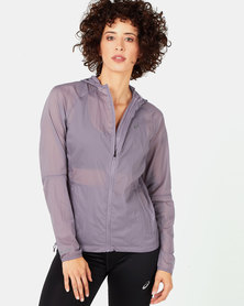 ASICS Packable Jacket Grey