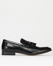 Mazerata San 4 Formal Slip Ons Black