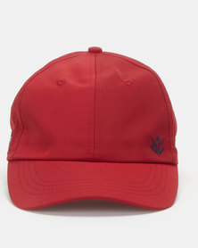 Evans Lightweight Baseball Caps Burgundy