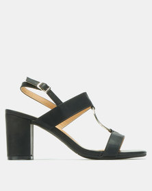 Butterfly Feet Evalee Heels Black