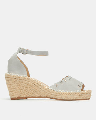 Butterfly Feet Paton 2 Wedges Grey