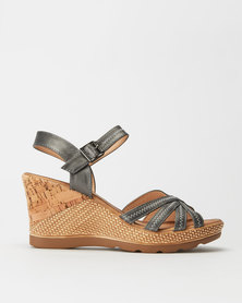 Butterfly Feet Lori Wedges Pewter