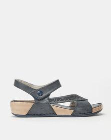 Butterfly Feet Barika Wedges Navy